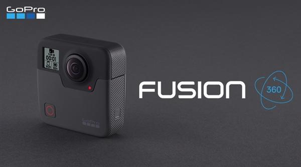 可拍摄5.2K视频 GoPro全景相机Fusion马上开售