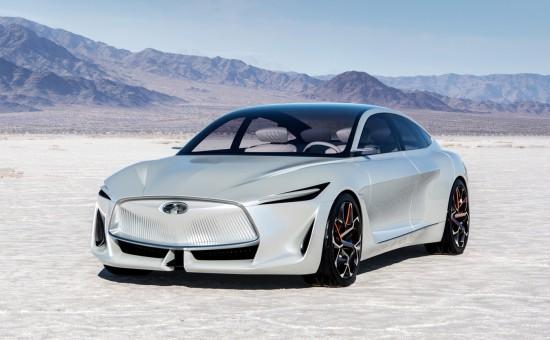 英菲尼迪概念车亮相北美车展 搭载可变压缩比涡轮增压发动机