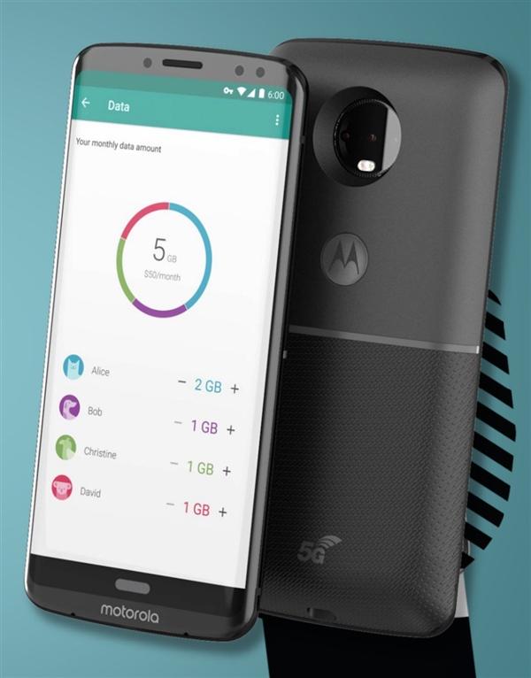 联想Moto Z3曝光 骁龙845全面屏、配5G网络模块