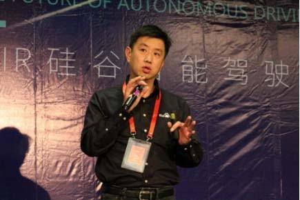 """百度王京傲硅谷讲述自动驾驶 Apollo2.0要为未来""""提速"""""""