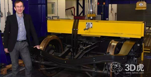RUN2RAIL探索3D打印和碳纤维复合材料,打造更轻、更舒适的列车!