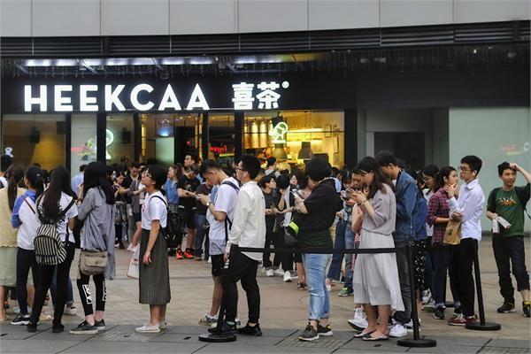 """""""脏脏包""""、""""喜茶""""…这些在中国有多火?"""