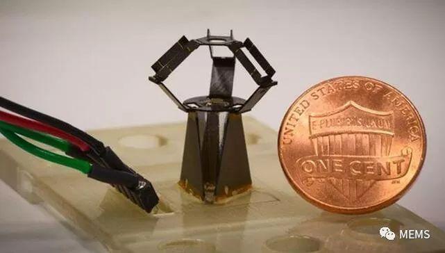 哈佛大学推出MEMS微型机器人MilliDelta