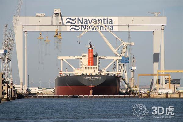 """西班牙造船商Navantia推出""""造船厂4.0"""",采用3D打印等技术!"""