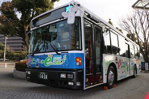 日本高等学府研发纯电动巴士,日产提供技术支持