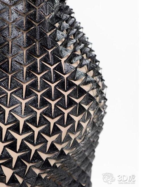 3D打印可扩展裙子助你秀出凹凸有致的好身材