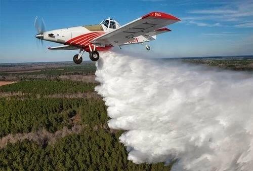 无人机新应用!美国研发无人空中加油机 可向火场输送约800加仑阻燃剂