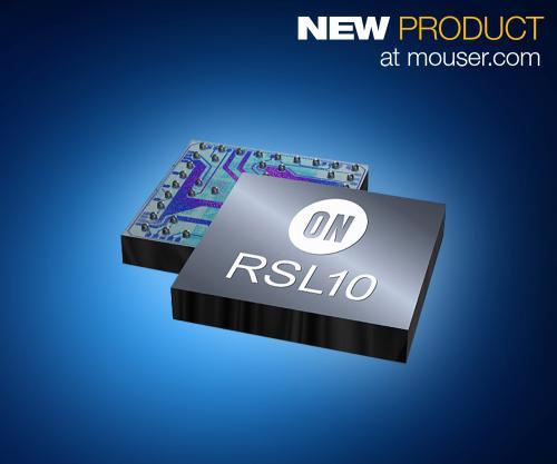 ON Semi RSL10 SoC为可穿戴提供无线连接