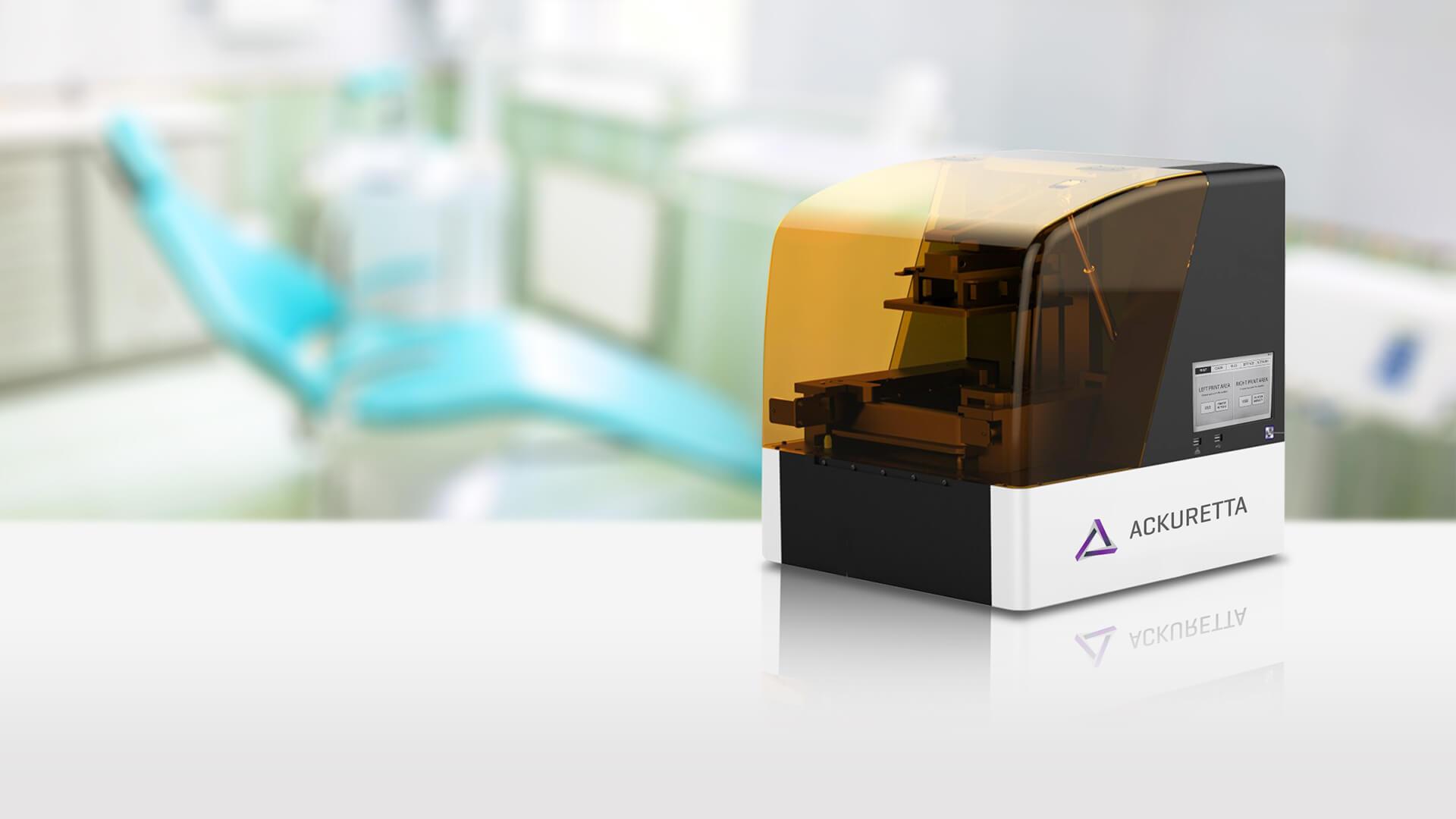台湾3D打印制造商Ackuretta即将推出新型桌面3D打印机Diplo 3D