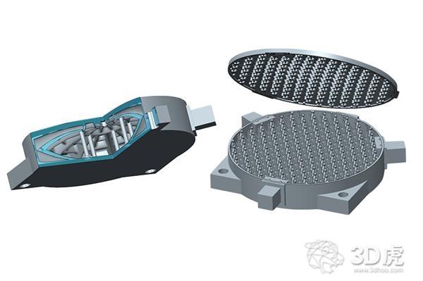 采用SLM 3D打印技术将扫描仪和望远镜的金属镜面减重75%