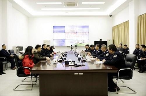 垫江警方与苏州科达签约成立联合实验室 科技强警提升信息化