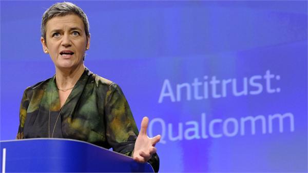 """高通收到欧盟12亿美元罚单:""""捆绑""""苹果芯片送高额回扣 涉嫌芯片垄断"""