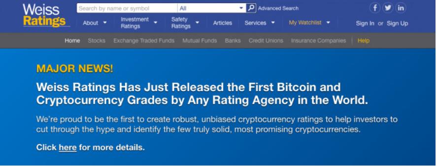 全球首份虚拟货币评级报告出炉:以太币优于比特币