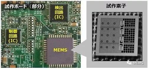 日立新型MEMS加速度计:灵敏度提升,功耗减半