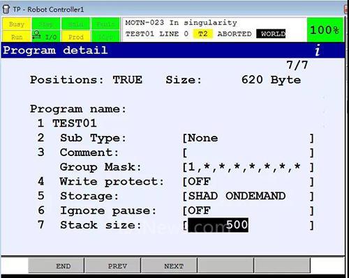 TP程序存储空间扩展功能
