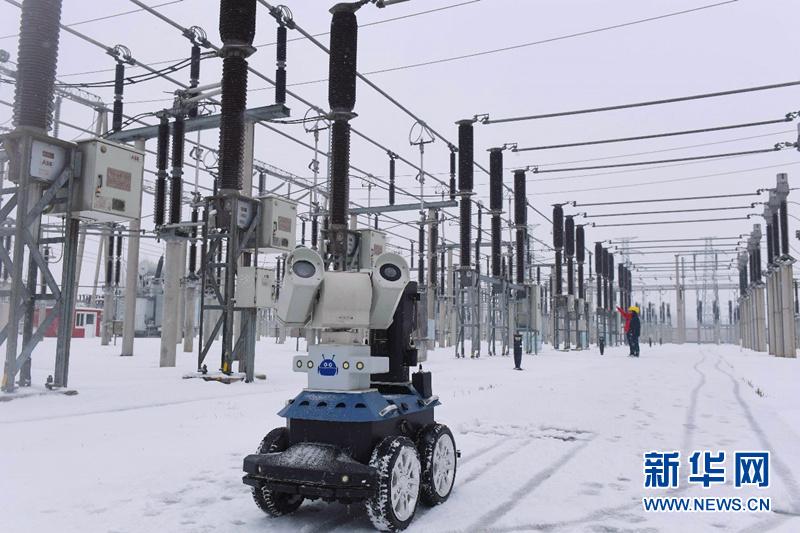 电网智能机器人 雪冰巡检全天候