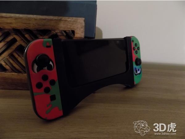3D打印的Joy Con手柄让智能手机和任天堂Switch兼容