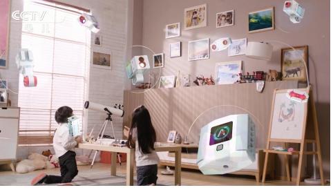 AI人才培养从娃娃抓起,能力风暴教育机器人登陆央视少儿