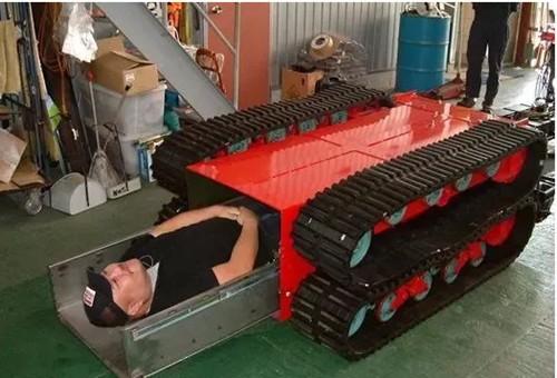日本发明地震救援机器人 伤亡率降低60%
