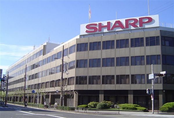受电视销量影响 日本夏普连续第五个季度实现盈利