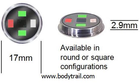 全集成心率传感器:有心率、睡眠等检测功能