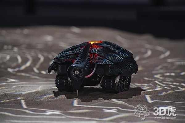 Noumena借Robotic Habitats和3D打印机器人探索人工智能演变