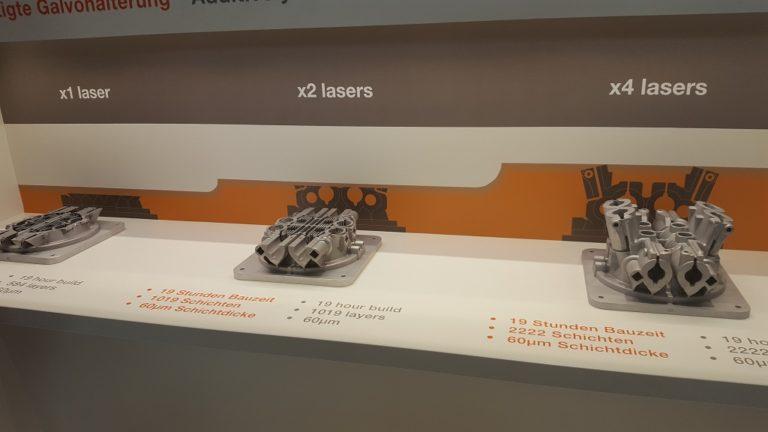 雷尼绍宣布四激光RenAM 500Q 3D打印系统正式投放市场