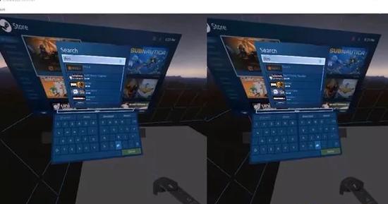 微软展示四种VR文本输入方案:及两种主流输入设备