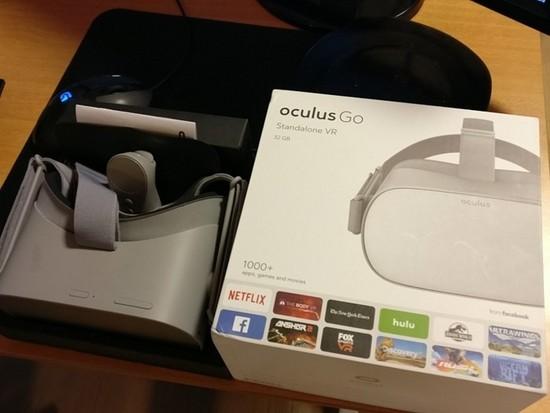 1000+款应用:Oculus Go开发者套装盒谍照曝光
