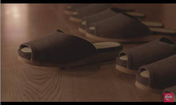 日产用自动泊车技术开了家旅馆:拖鞋坐垫自动归位