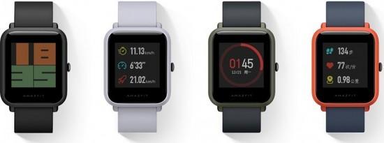 小米米动智能手表正式全球发售
