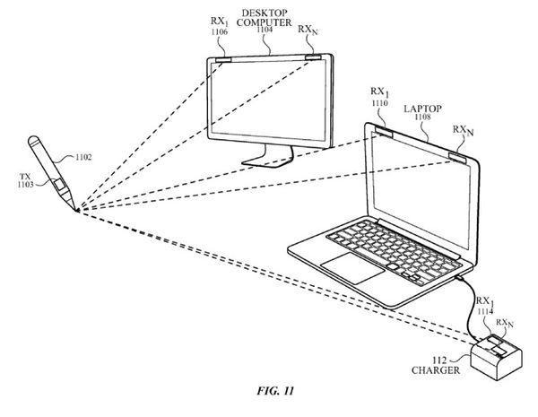新专利:未来Apple Pencil有望在任意平坦表面使用