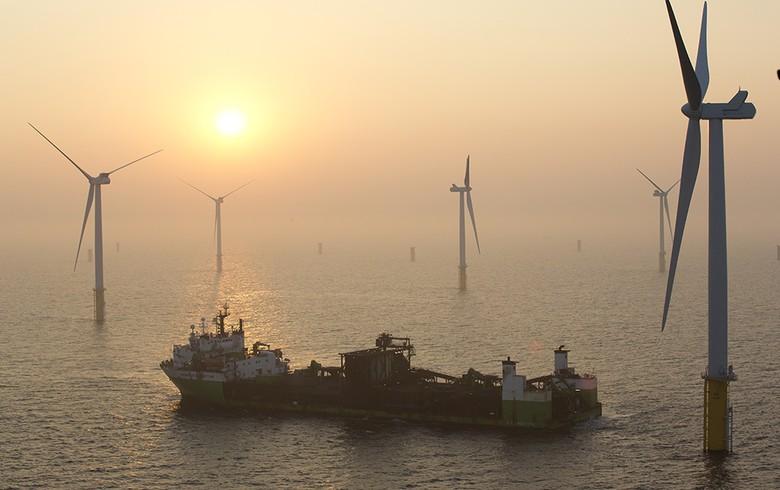 2017年欧洲新增海上风电装机容量3.1吉瓦