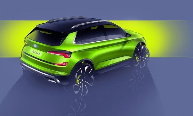 角逐微型SUV市场 斯柯达Vision X将亮相日内瓦车展