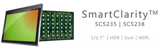 500万像素结合BSI像素技术 SmartClarity系列两款新产品震撼登场