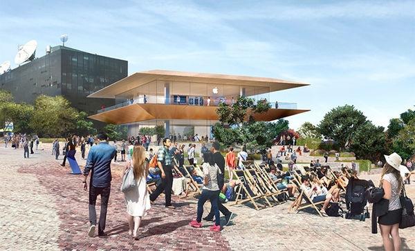 苹果的设计遭质疑 澳民众联名抵制苹果新店