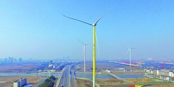 国内首个140米钢塔筒分散式风电项目批量投运