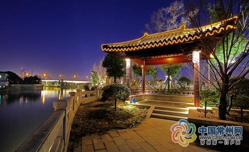 常州大运河照明工程完成 千年大运河首次亮灯