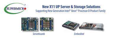 美超微新推高密度SoC解决方案,扩充边缘计算和网络设备组合