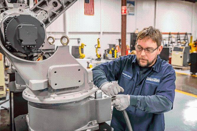 工業機器人預防性保養的重要性