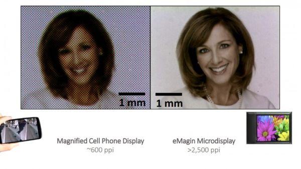Emagin OLED微显示器技术获得苹果LG和Valve的投资