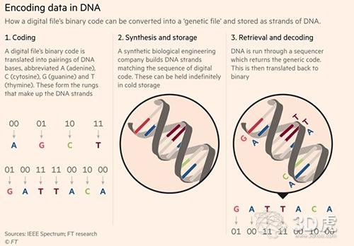 DNA如何成为负担得起的数据存储?3D打印是关键