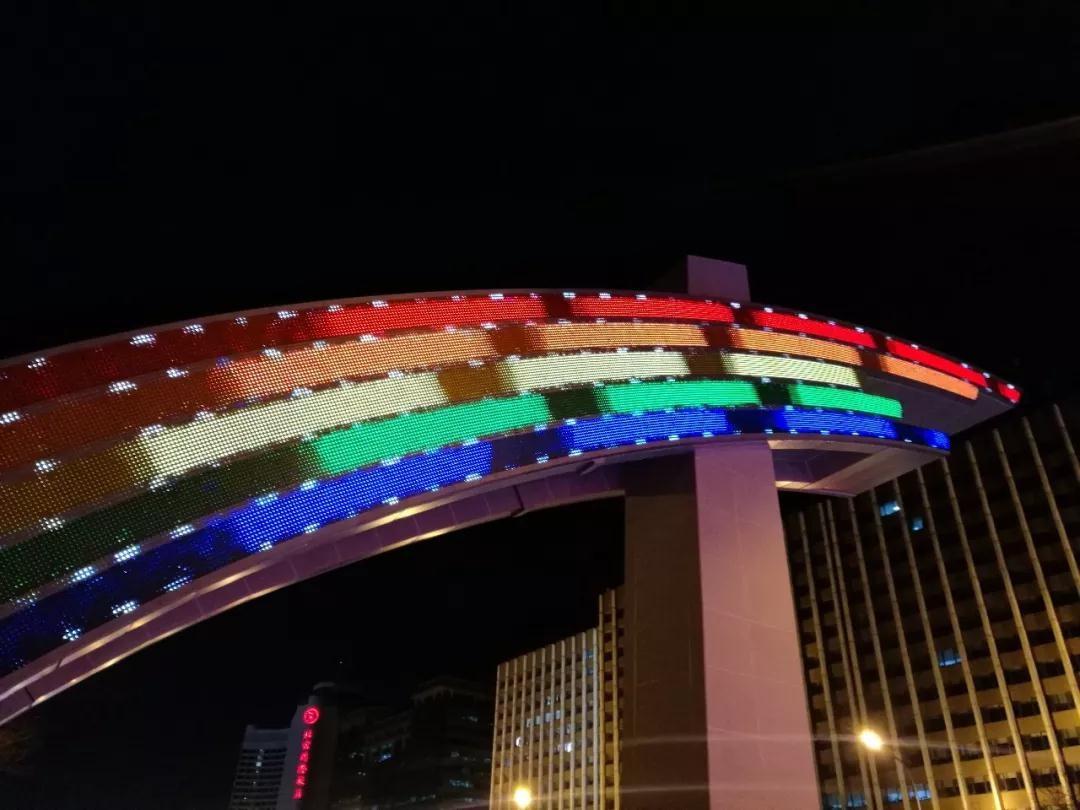 长安街彩虹门正式亮灯 新彩虹门LED光源有何特别之处?