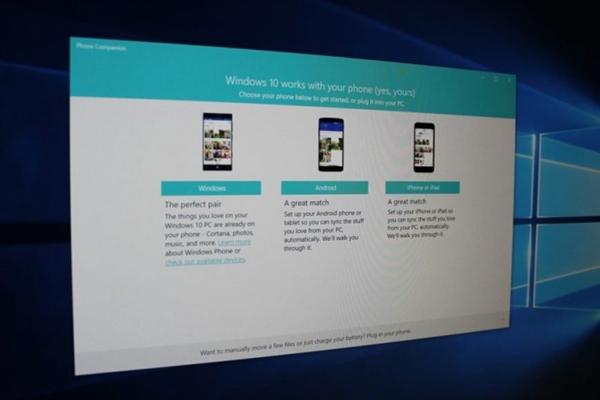 微软要弃Win10中Phone Companion功能