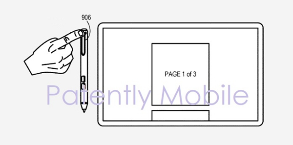 彻底抛弃鼠标:微软新专利曝光,Surface Pen支持滚轮功能