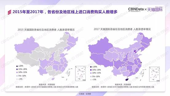新零售激活国人品质消费升级,天猫国际春节进口消费暴涨近20倍