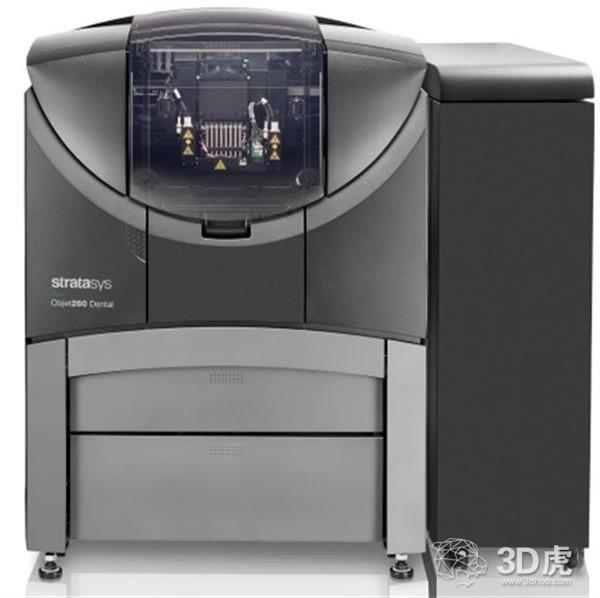 Stratasys推出可打印多种材料的Objet260 Dental 3D打印机