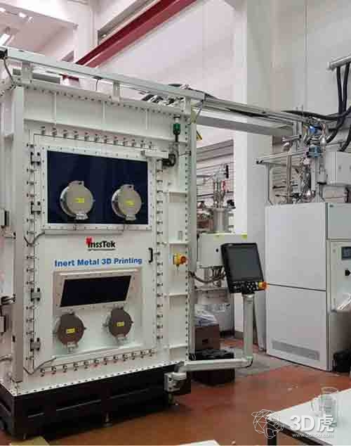 InssTek为冶金研究提供专用的MX-450金属3D打印机