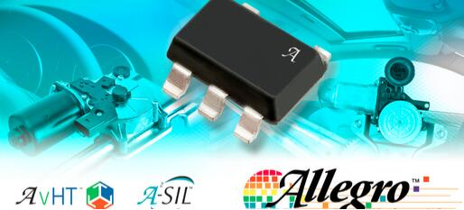 Allegro推出新2D霍尔效应速度和方向传感器IC