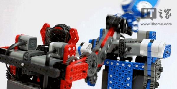 美国一厂商推出DIY格斗机器人
